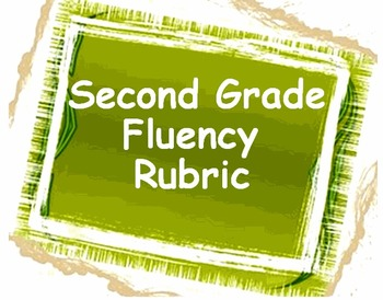 2nd Grade Fluency Rubric