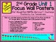 2nd Grade Focus Wall Posters for Houghton Mifflin Harcourt Journeys Unit 1