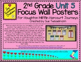 2nd Grade Focus Wall Posters for Houghton Mifflin Harcourt