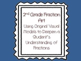 2nd Grade Fraction Arts Integrated Visual Learning Activity- Common Core Aligned