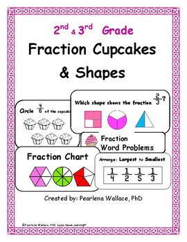 Guided Math Fraction Unit 2nd Grade CCSS