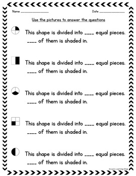 2nd Grade Fractions