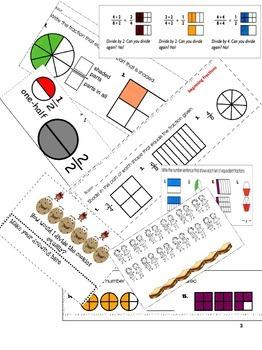 2nd Grade Fractions-Complete Plan & Worksheets