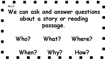 2nd Grade Freebie RL2.1