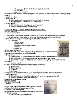 2nd Grade Friendship Group Lesson Plan