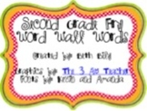 2nd Grade Fry Word Wall