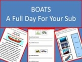 Boats - Common Core Aligned Full Day For Your Sub