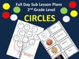 Circles - Common Core Aligned Full Day For Your Sub