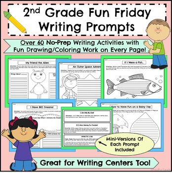 2nd grade writing prompts pdf