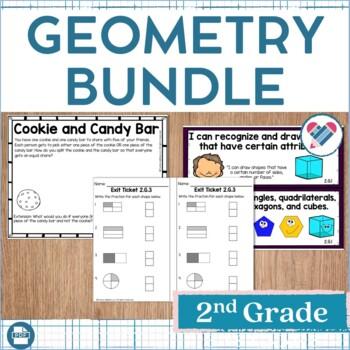 Geometry Bundle 2nd Grade