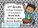 2nd Grade Georgia Standards of Excellence I Can Statements