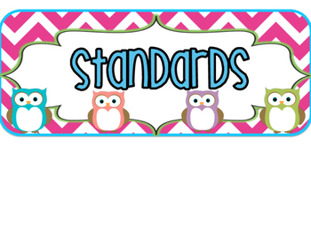 2nd Grade GEORGIA Owls Standards