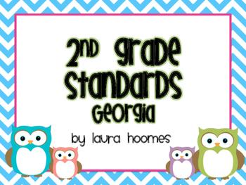 2nd Grade GEORGIA Owls Standards