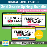 2nd Grade Spring Reading Fluency in a Flash Digital Mini L