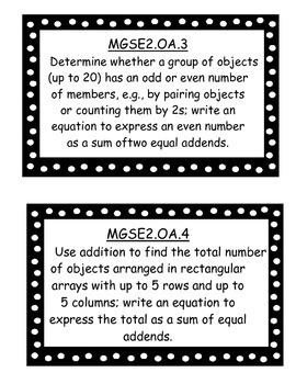 2nd Grade GSE standards
