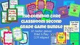 2nd Grade Math Game Bundle - 22 Engaging Center Games - CCSS Aligned