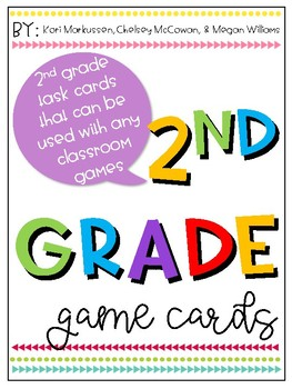 2nd Grade Game Cards- Preview