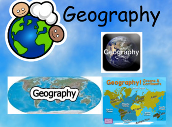 2nd Grade Geography Unit Flipchart