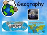 2nd Grade Geography Unit Flipchart