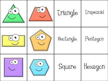 2nd Grade Geometry { 2.G.1 Naming and Identifying Polygons & Quadrilaterals }