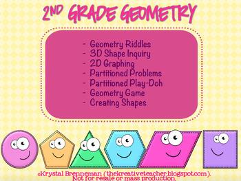 2nd Grade Geometry Extenstion Activities