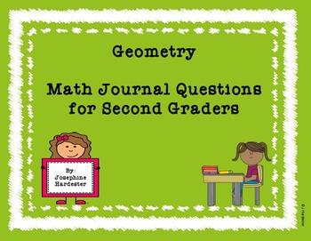 2nd Grade Geometry Journal Questions
