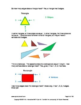 2nd Grade Geometry Lessons, Worksheets, Solution Manuals