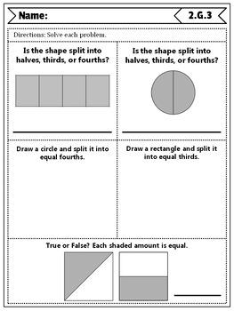 2nd Grade Geometry Quizzes: 2nd Grade Math Quizzes, Geometry