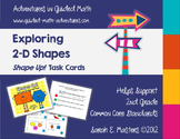 2nd Grade Geometry Task Cards - 2-D Shape Task Cards - Polygons
