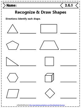 2nd Grade Geometry Worksheets 2nd Grade Math Worksheets Geometry