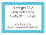2nd Grade GA ELA Common Core Standards