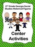 2nd Grade Georgia Historical Figures Center Activities