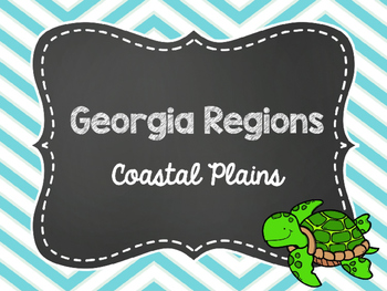 2nd Grade Georgia Region: Coastal Plains Power Point