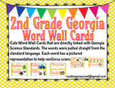 2nd Grade Georgia Science Word Wall Cards