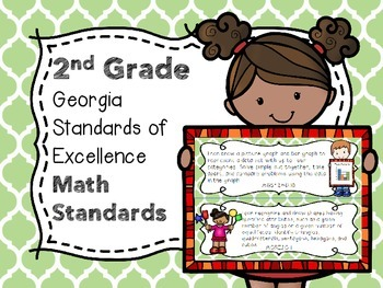 2nd Grade Georgia Standards of Excellence Math - I Can Statements