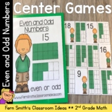 2nd Grade Go Math 1.1 Even or Odd Numbers Quick and Easy t