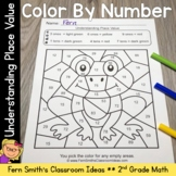 2nd Grade Go Math 1.3 Color By Number Understanding Place Value