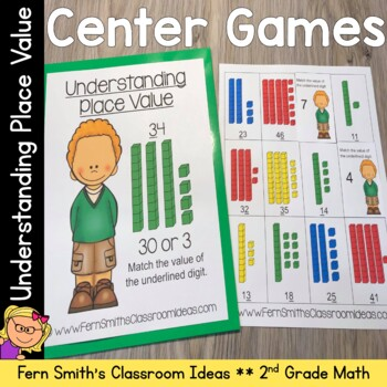 2nd Grade Go Math 1.3 Understanding Place Value Quick and Easy to Prep Centers