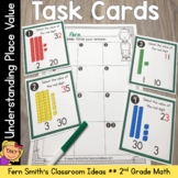2nd Grade Go Math 1.3 Understanding Place Value Task Cards