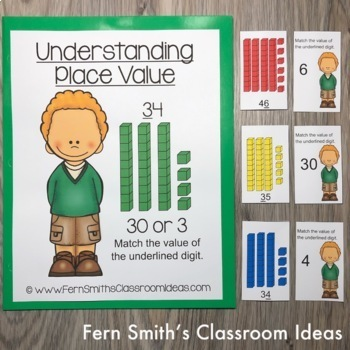 2nd Grade Go Math 1.3 Understanding Place Value Bundle