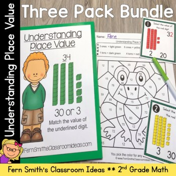 2nd Grade Go Math 13 Understanding Place Value Bundle Tpt