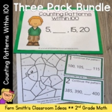 2nd Grade Go Math 1.8 Counting Patterns Within 100 Bundle