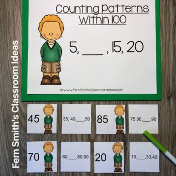 2nd Grade Go Math 1.8 Counting Patterns Within 100 Center Games