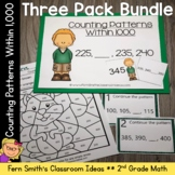 2nd Grade Go Math 1.9 Counting Patterns Within 1000 Bundle