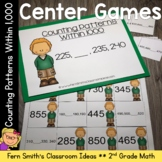 2nd Grade Go Math 1.9 Counting Patterns Within 1000 Center Games
