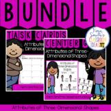 2nd Grade Go Math 11.2 Attributes of Three-Dimensional Shapes Bundle