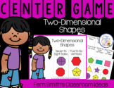 2nd Grade Go Math 11.3 Two-Dimensional Shapes Center Games