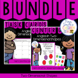 2nd Grade Go Math 11.4 Angles In Two-Dimensional Shapes Bundle