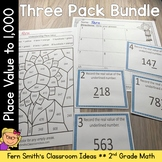 2nd Grade Go Math 2.5 Understanding Place Value Within 1000 Bundle
