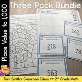 2nd Grade Go Math 2.5 Place Value To 1,000 Bundle